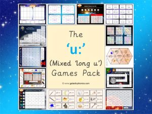 The Mixed 'long u' Games Pack