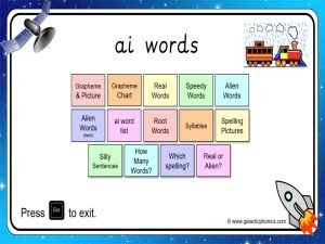 ai phonics powerpoint