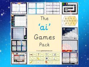 ai phonics games pack