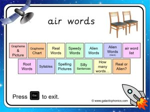 air phonics powerpoint