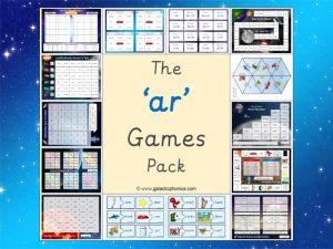 ar phonics games pack