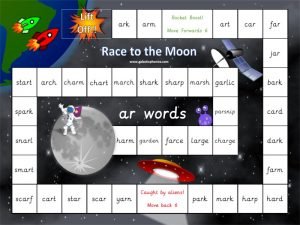 Race to the Moon Games