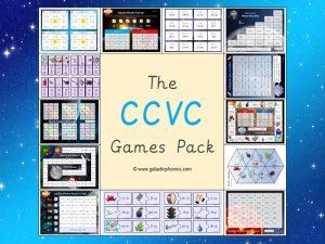 ccvc phonics games pack