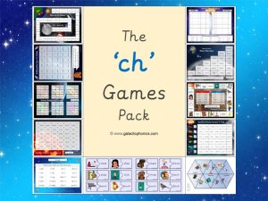 ch phonics games pack