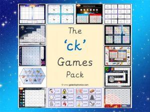ck phonics games pack