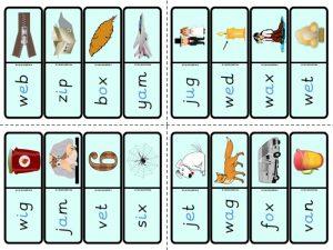 phonics dominoes