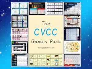 cvcc phonics games pack