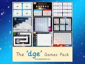 dge phonics games pack