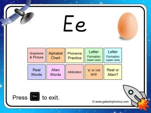 letter sound e phonics powerpoint