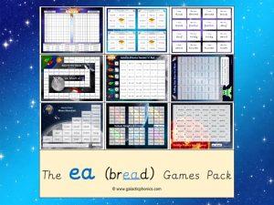 ea (short) phonics games pack