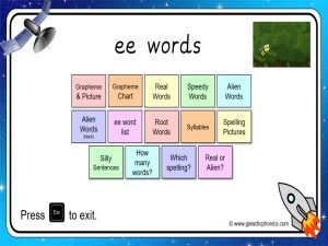ee phonics powerpoint