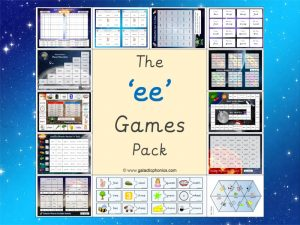 ee phonics games pack