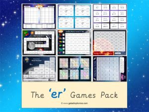 er (stretched) phonics games pack