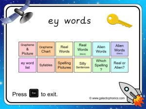 ey (long e) phonics powerpoint