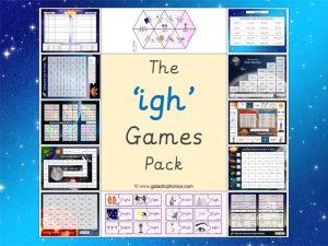 igh phonics games pack