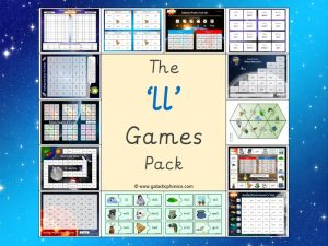 ll phonics games pack