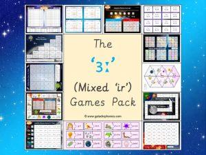 mixed ir phonics games pack