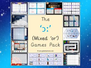 mixed or phonics games pack