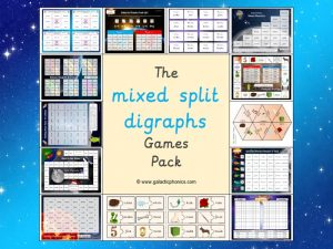 mixed split digraphs games pack
