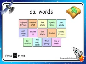 oa phonics powerpoint