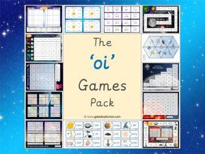 oi phonics games pack