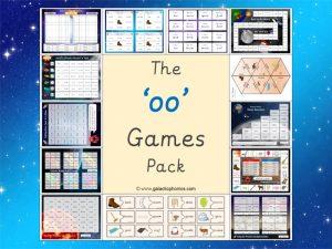 oo phonics games pack