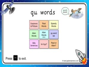 qu phonics powerpoint