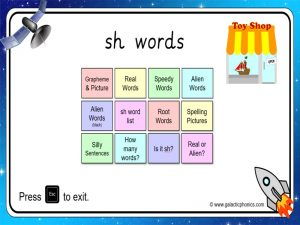 sh phonics powerpoint