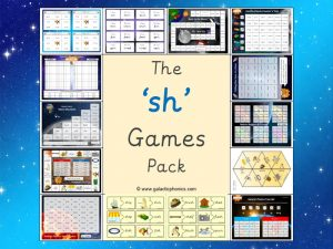 sh phonics games pack