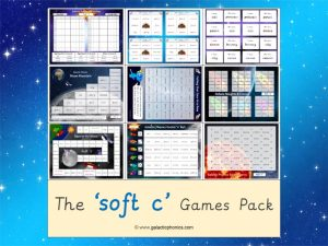 soft c phonics games pack