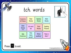 tch phonics powerpoint