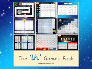 th phonics games pack