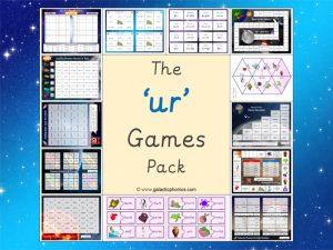 ur phonics games pack