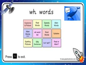 wh phonics powerpoint