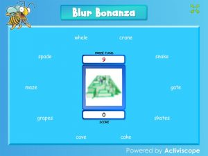 a-e (split digraph) blur bonanza