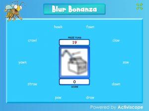 aw blur bonanza