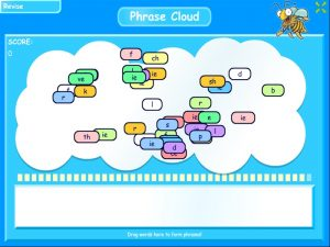 ie (long e) word cloud