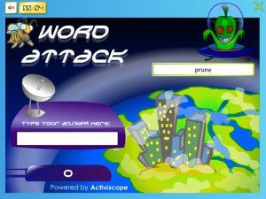 u-e word attack
