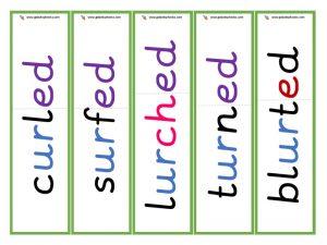 ur root word cards (ed)
