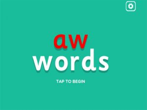 aw interactive anagrams game