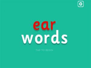 ear interactive anagrams game