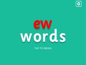 ew interactive anagrams game