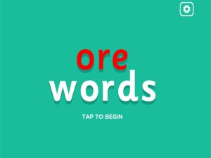 ore interactive anagrams game