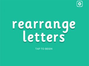 u8r interactive anagrams game