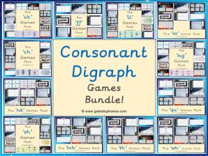 The Consonant Digraph Games Bundle