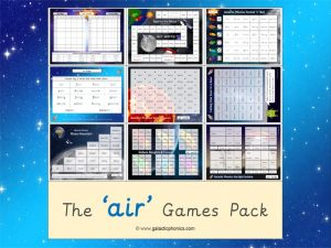 air phonics games pack