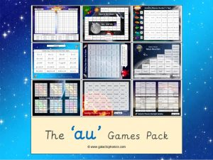 au phonics games pack