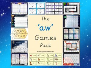aw phonics games pack