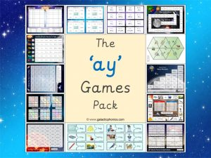 ay phonics games pack
