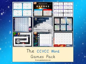 ccvcc phonics games pack